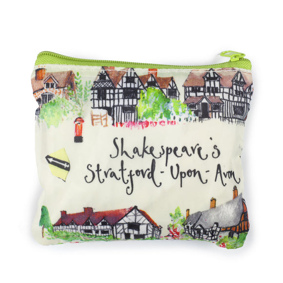 Shakespeare's Stratford-upon-Avon Foldaway Bag