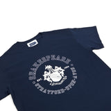 Shakespeare Coat of Arms Navy T-Shirt
