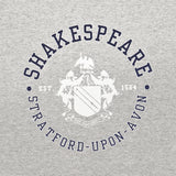 Shakespeare Coat of Arms Grey T-Shirt