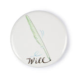 Will Shakespeare Quill Badge