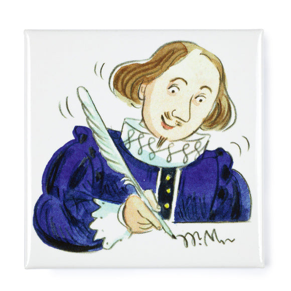Will Shakespeare Magnet