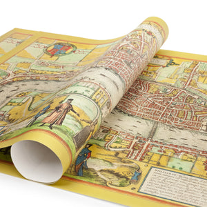 Gift Wrap London Map