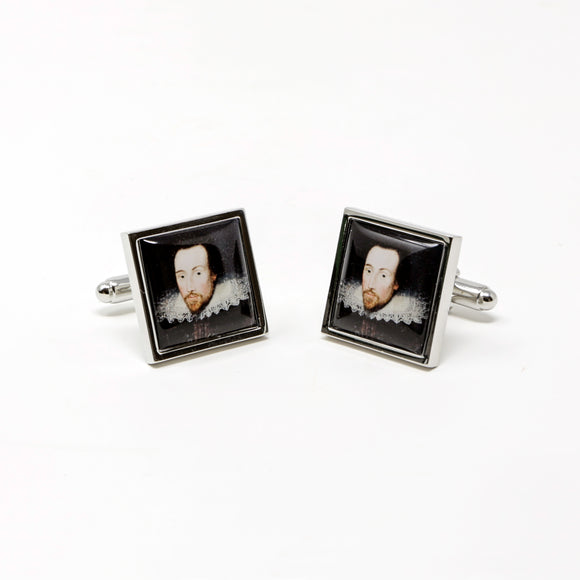 Shakespeare Portrait Cufflinks