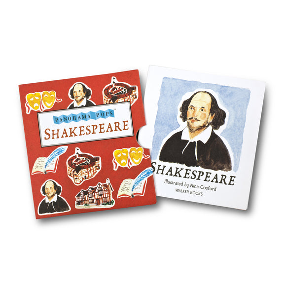 Shakespeare Panorama Pop illustrated by Nina Cosford