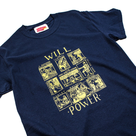 Willpower Navy T-Shirt