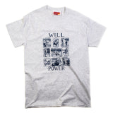 Willpower Grey T-Shirt