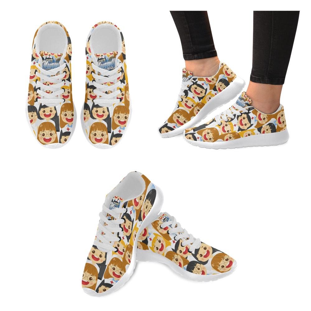 Party Nurse women's sneakers Women's Sneakers (Model 020)