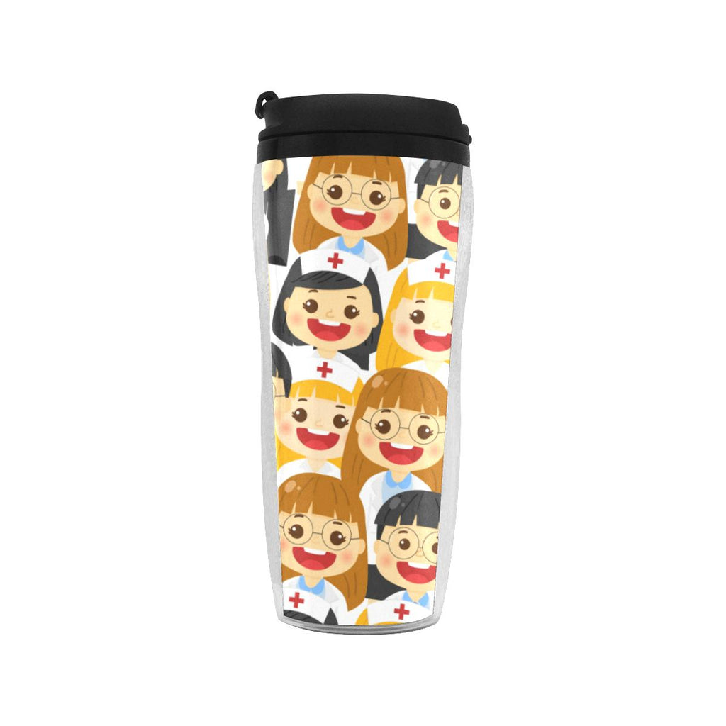 Party of Nurses Reusable Coffee Cup Reusable Coffee Cup(11OZ) One Size
