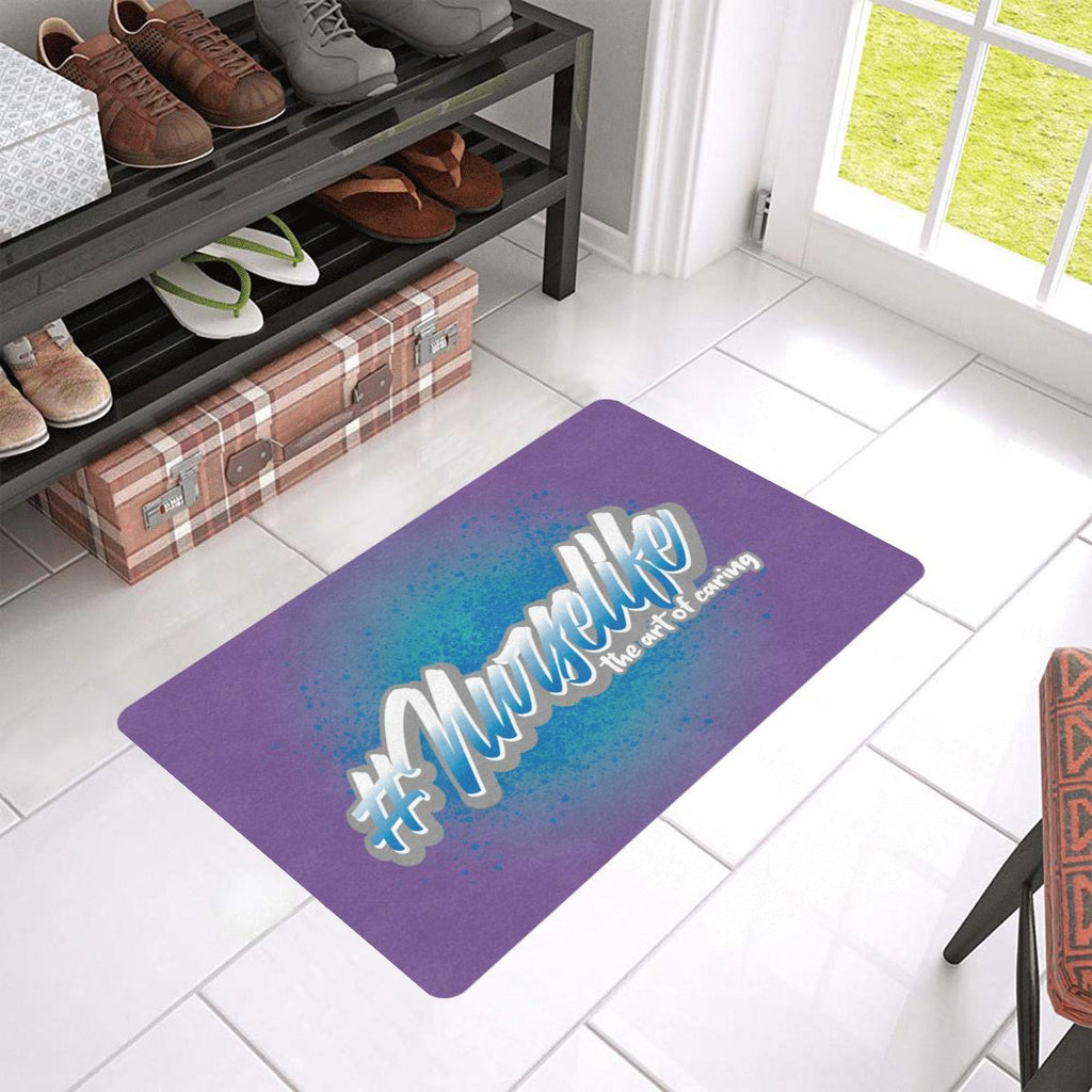 "The art of nursing Doormat 24""x16""(Rubber) Doormat 24""x16""(Rubber)"