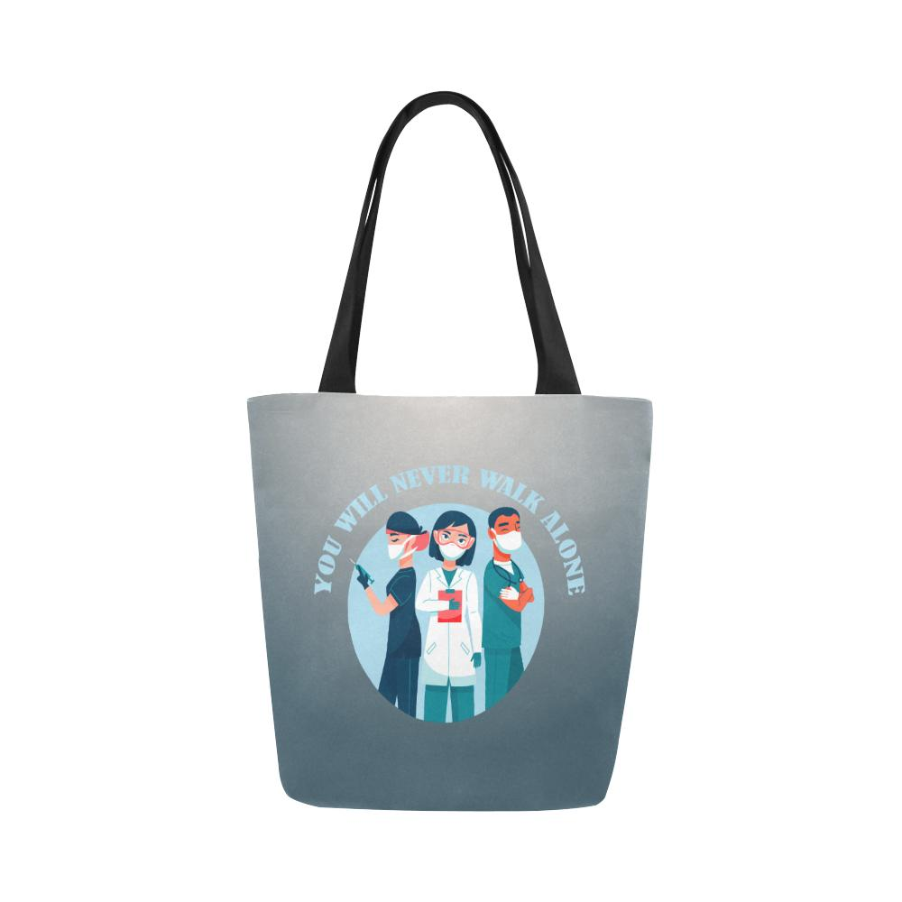 You will never walk alone, tote Tote bags One Size Set of 1