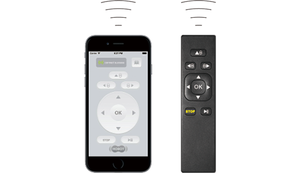 Smartphone controlled and Remote control