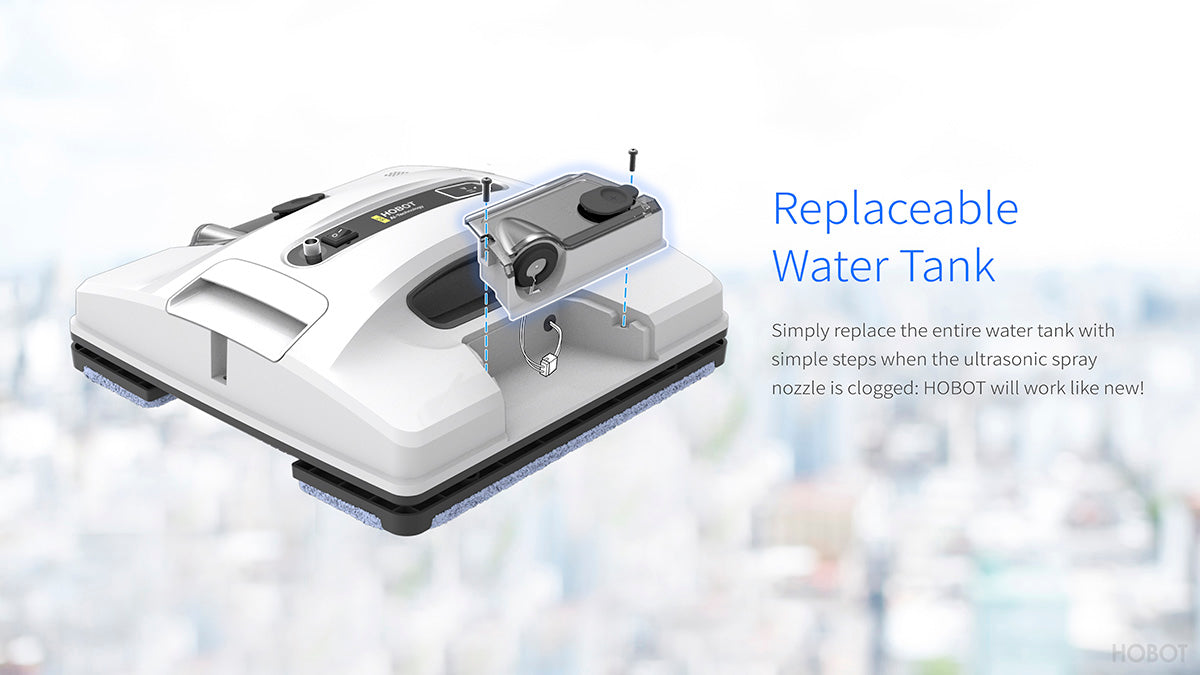 Hobot Replaceable Water Tank