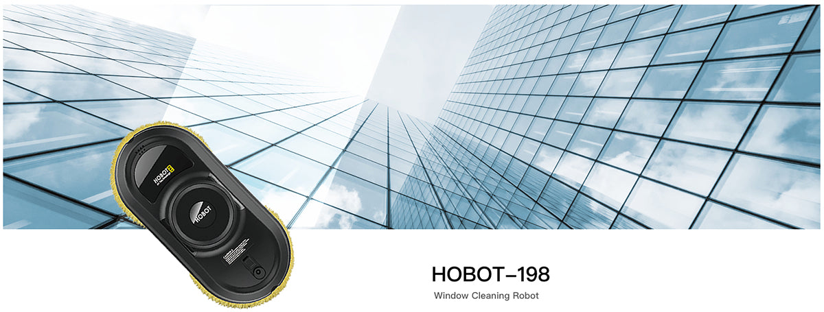 hobot-198 window cleaning robot