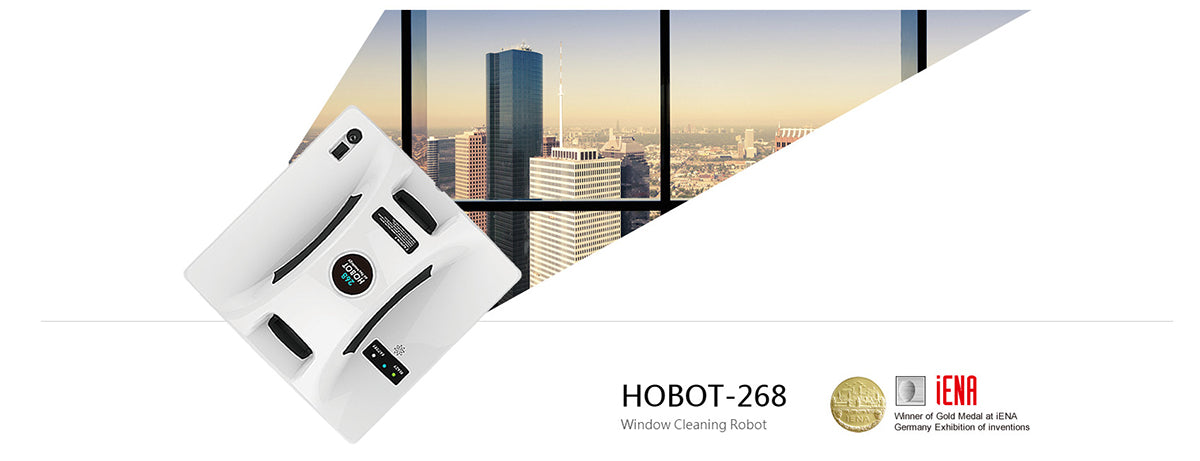 hobot-268 window cleaning robot