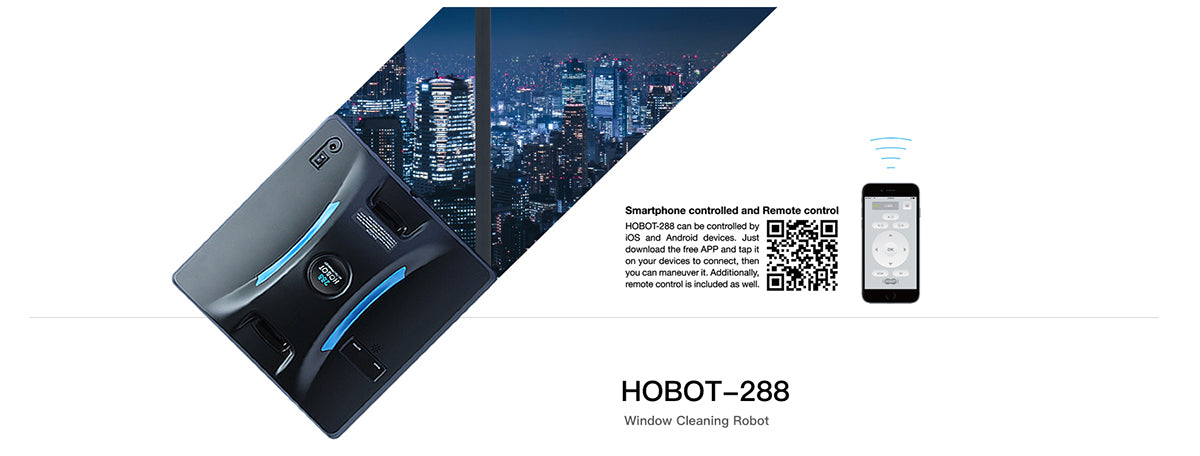 hobot-288 window cleaning robot