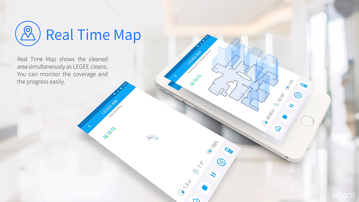 legee realtime map