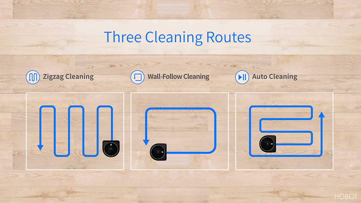 cleaning routes