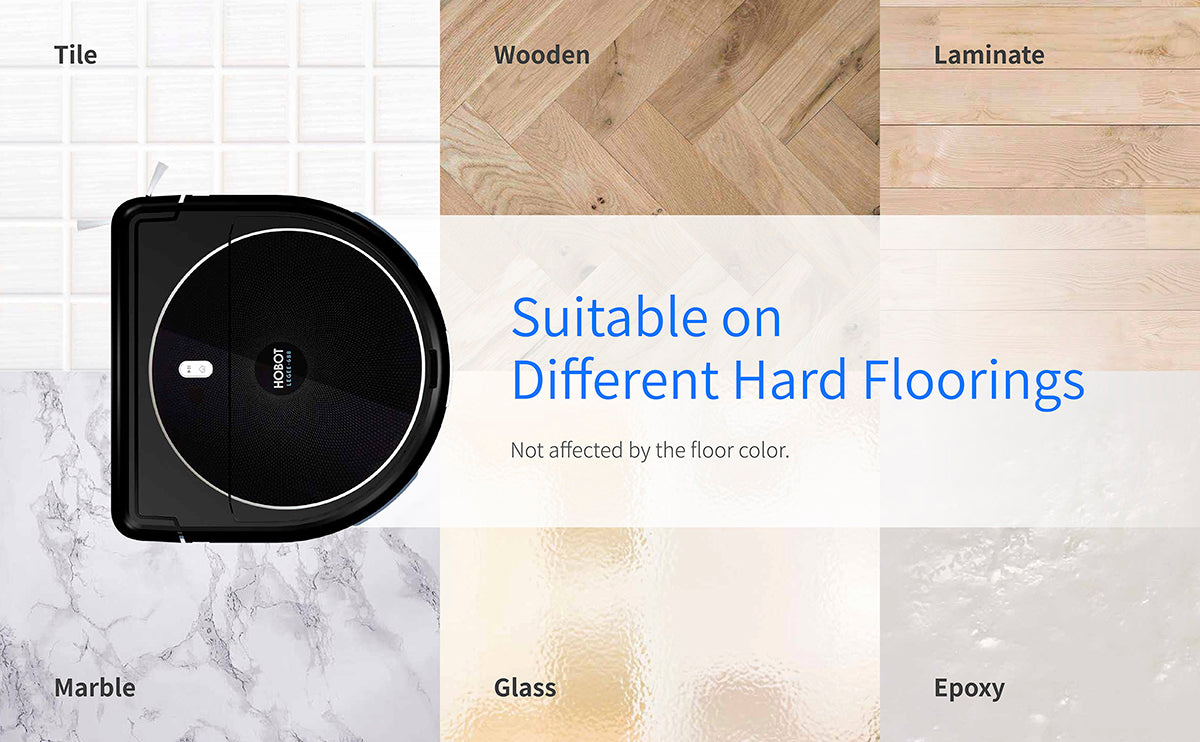 legee suitable on different hard floor