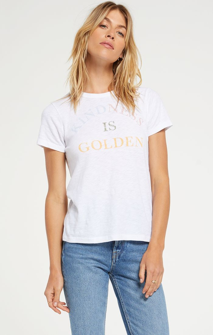 Z Supply Kindness Is Golden Tee