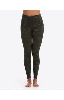 Spanx Look at Me Know Green Leggings