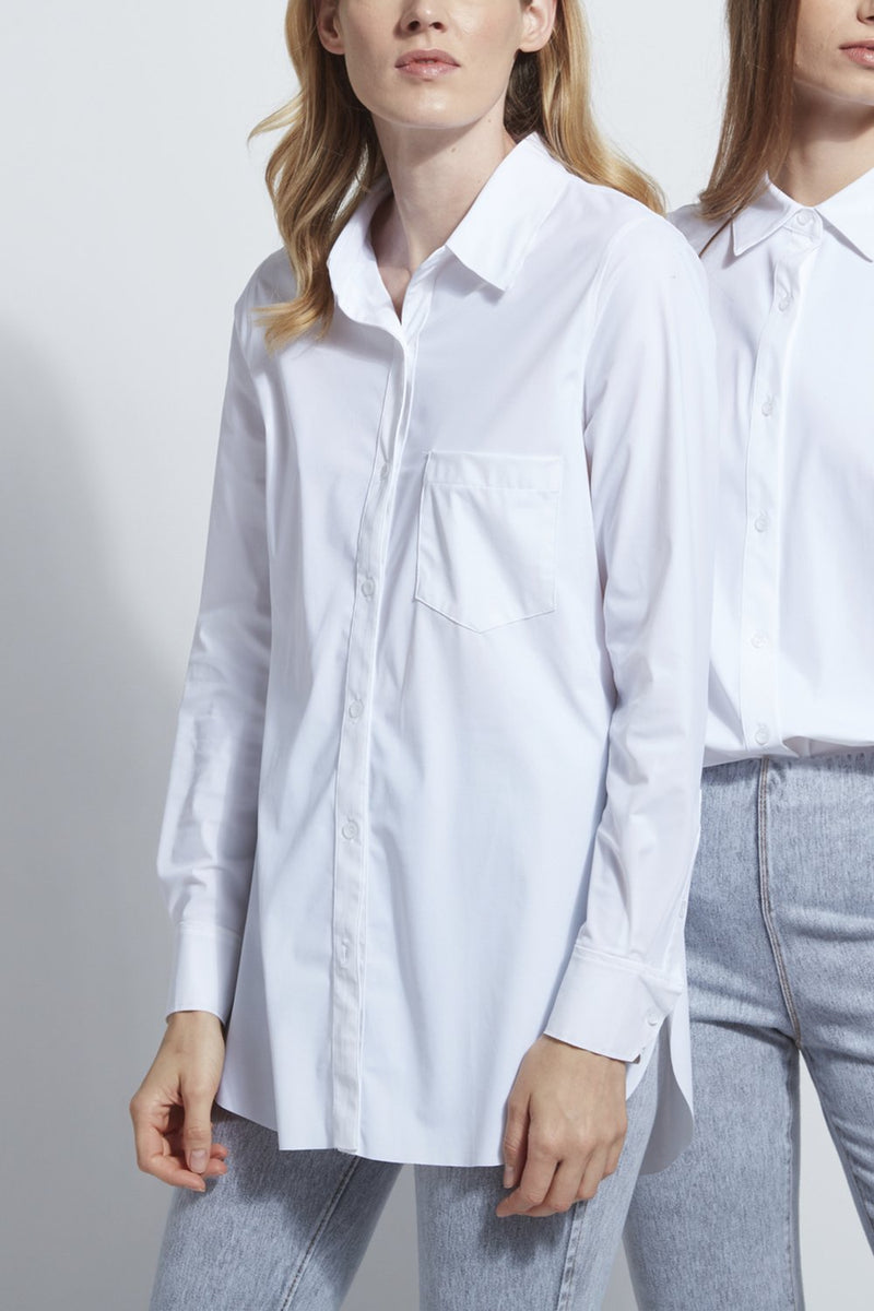 Lysse Shiffer Button Down Top