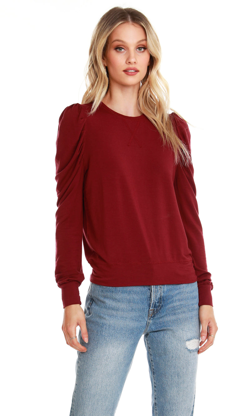 Bobi Puff Sleeve Top