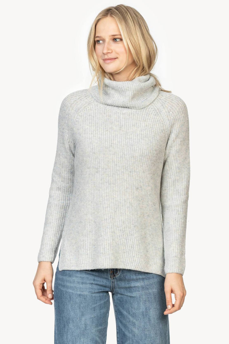 Lilla P Ribbed Turtleneck Sweater