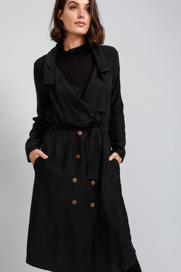 Brave &  True Trench Coat