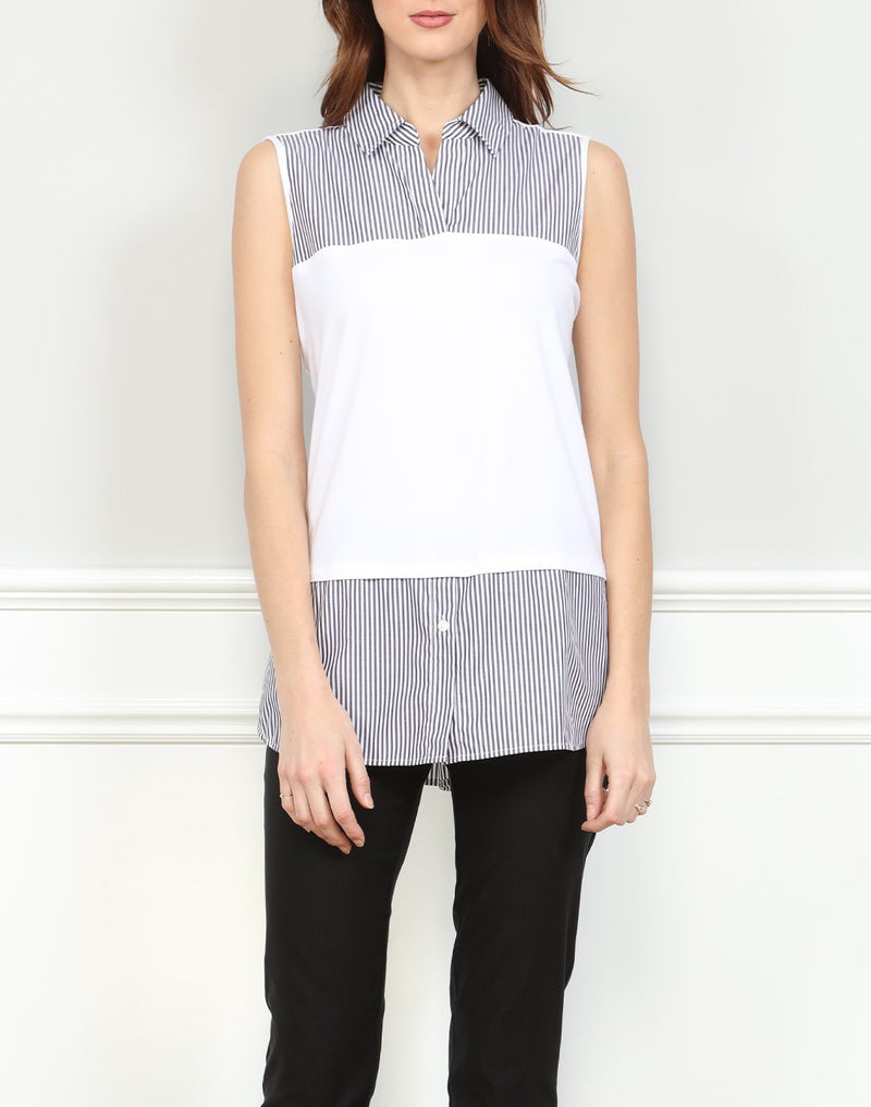 Hinson Wu Tunic With Knit