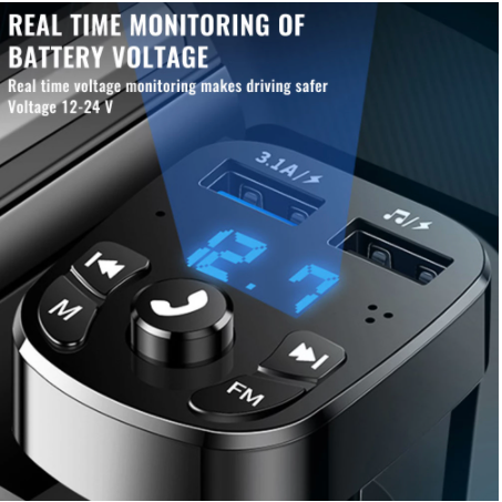 Car Bluetooth transmitter MP3