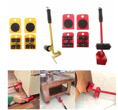 Furniture Moving & Lifting System - 5 Piece Set