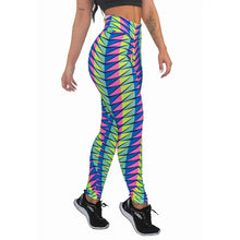 Carregar imagem no visualizador da galeria, Calça Legging Fitness Estampada Colorful Abstract Mosaic