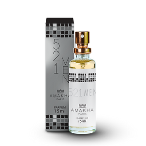 521 For Man Amakha Paris 15 ml Masculino - Inspirado Em 212 NYC Carolina Herrera
