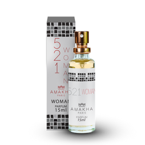 521 For Woman Amakha Paris 15 ml – Feminino Inspirado Em 212 NYC Carolina Herrera