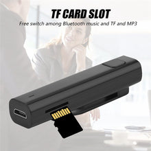 Carregar imagem no visualizador da galeria, Tradutor de Idiomas Adaptador Receptor Bluetooth Wireless Stereo TF