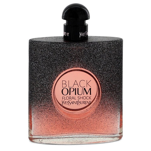 Black Opium Floral Shock Eau De Parfum Spray (Tester) By Yves Saint Laurent