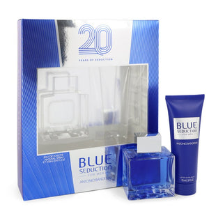 Blue Seduction Gift Set By Antonio Banderas