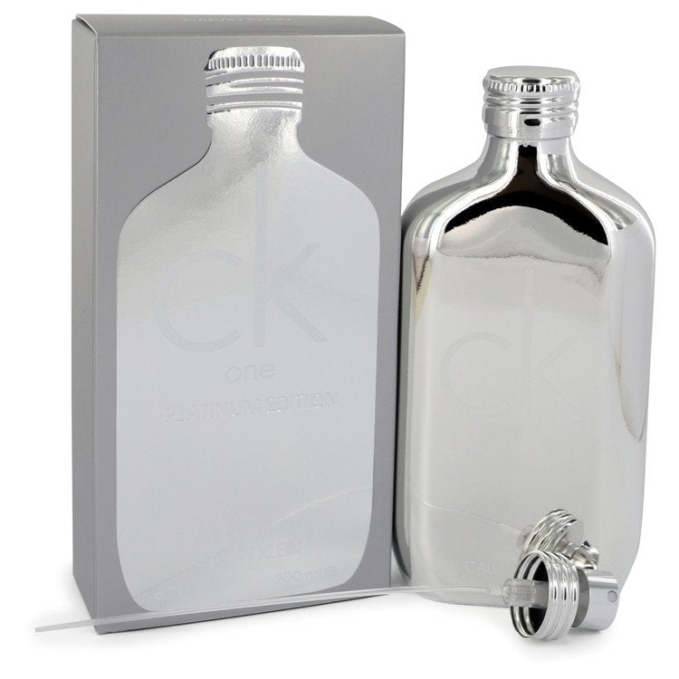 Ck One Platinum Eau De Toilette Spray (Unisex) By Calvin Klein