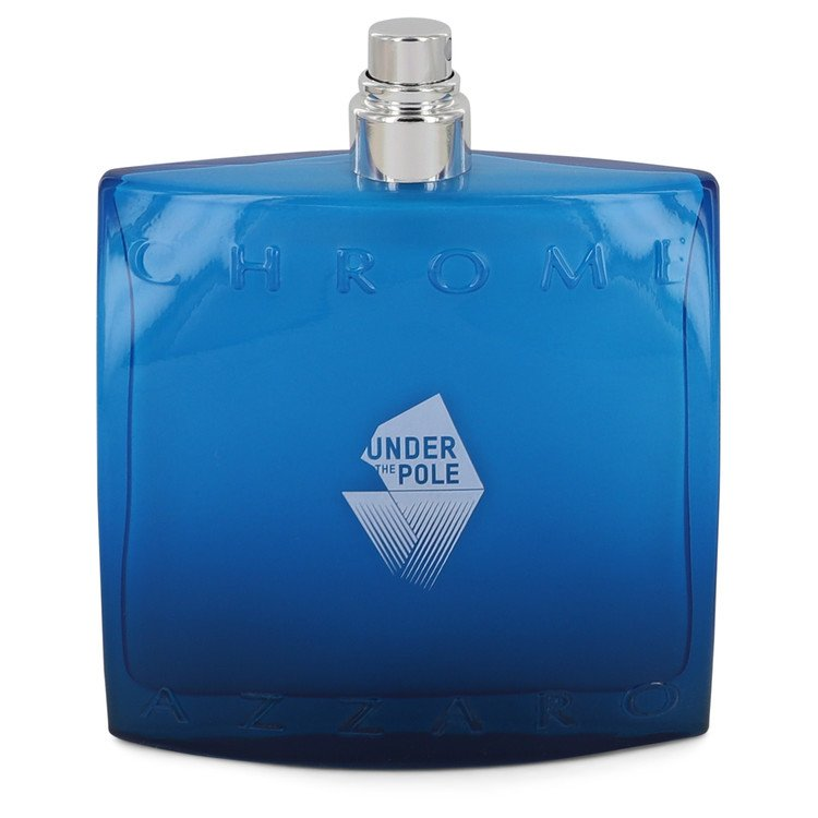 Chrome Under The Pole Eau De Toilette Spray (Tester) By Azzaro