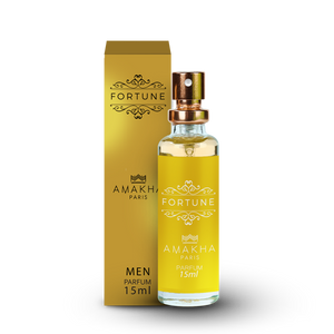Fortune Amakha Paris Masculino 15 ml - Inspiração One Million - Paco Rabanne