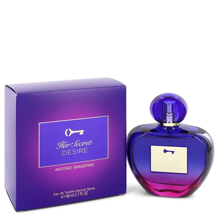 Her Secret Desire Eau De Toilette Spray By Antonio Banderas