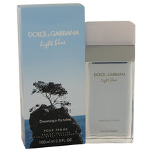 Carregar imagem no visualizador da galeria, Light Blue Dreaming In Portofino Eau De Toilette Spray By Dolce & Gabbana