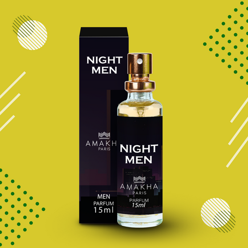 Night Men Amakha Paris 15ml - Inspiração La Nuit De L'Homme - Yves Saint Laurent