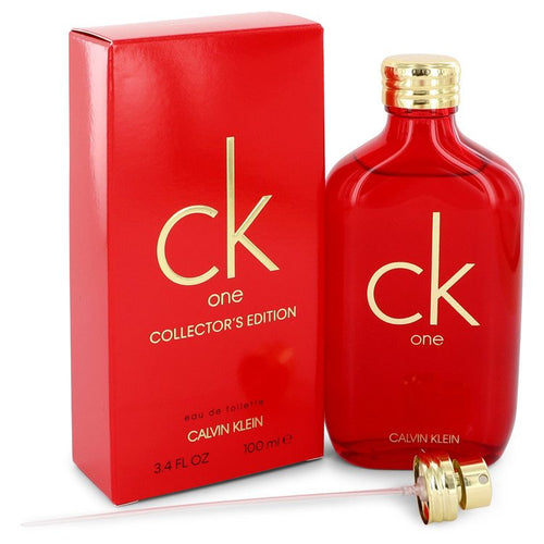 Ck One Eau De Toilette Spray (Unisex Red collector's Edition) By Calvin Klein