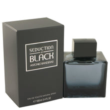 Carregar imagem no visualizador da galeria, Seduction In Black Eau De Toilette Spray By Antonio Banderas