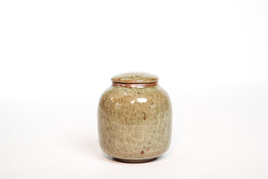 Guan Crackle Glazed Jar, 400ml