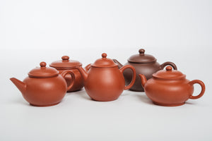 Fang Gu Teapot, Zhuni Clay, 160 ml