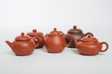 Load image into Gallery viewer, Gaopan Teapot, Zhuni Dahongpao Clay, 150 ml