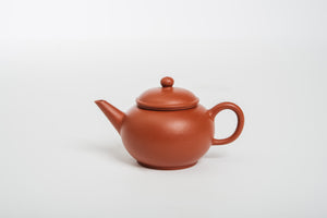 Shuiping Teapot, Zhuni Clay, 120 ml