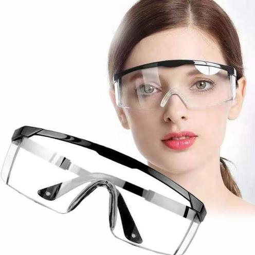 Clear Anti Impact Lab Safety Goggles Eye Protective Outdoor Work Glass Online Shopping Cdo